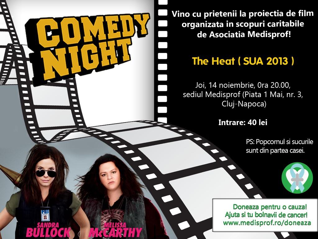 Invitatie Medisprof Comedy Movie Night v1
