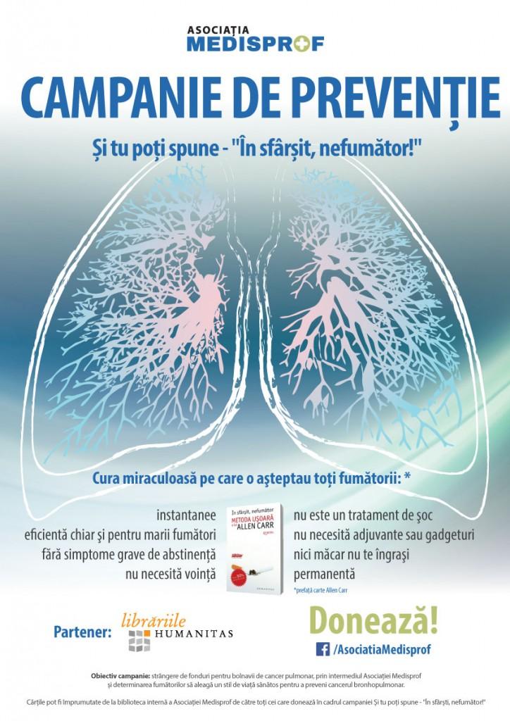 Afiș campanie prevenție